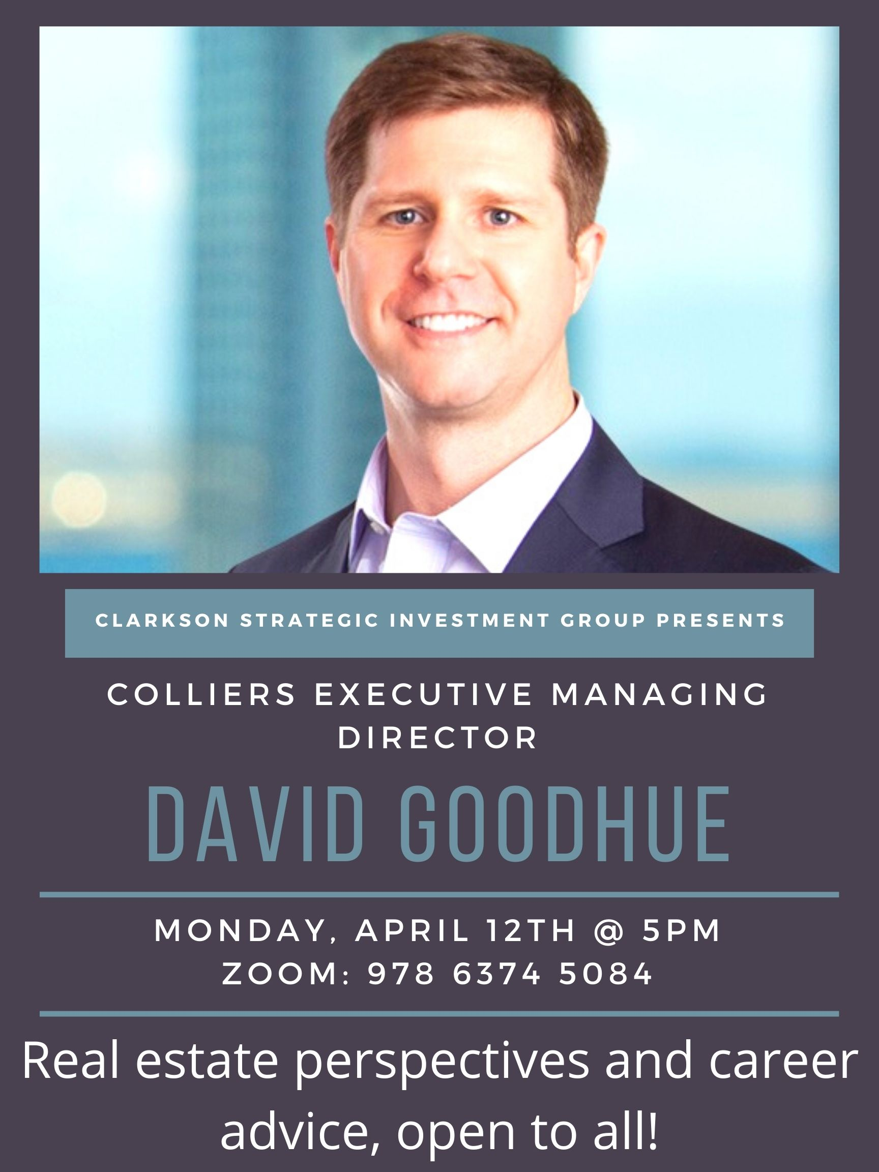 Real Estate Market Talk with David Goodhue