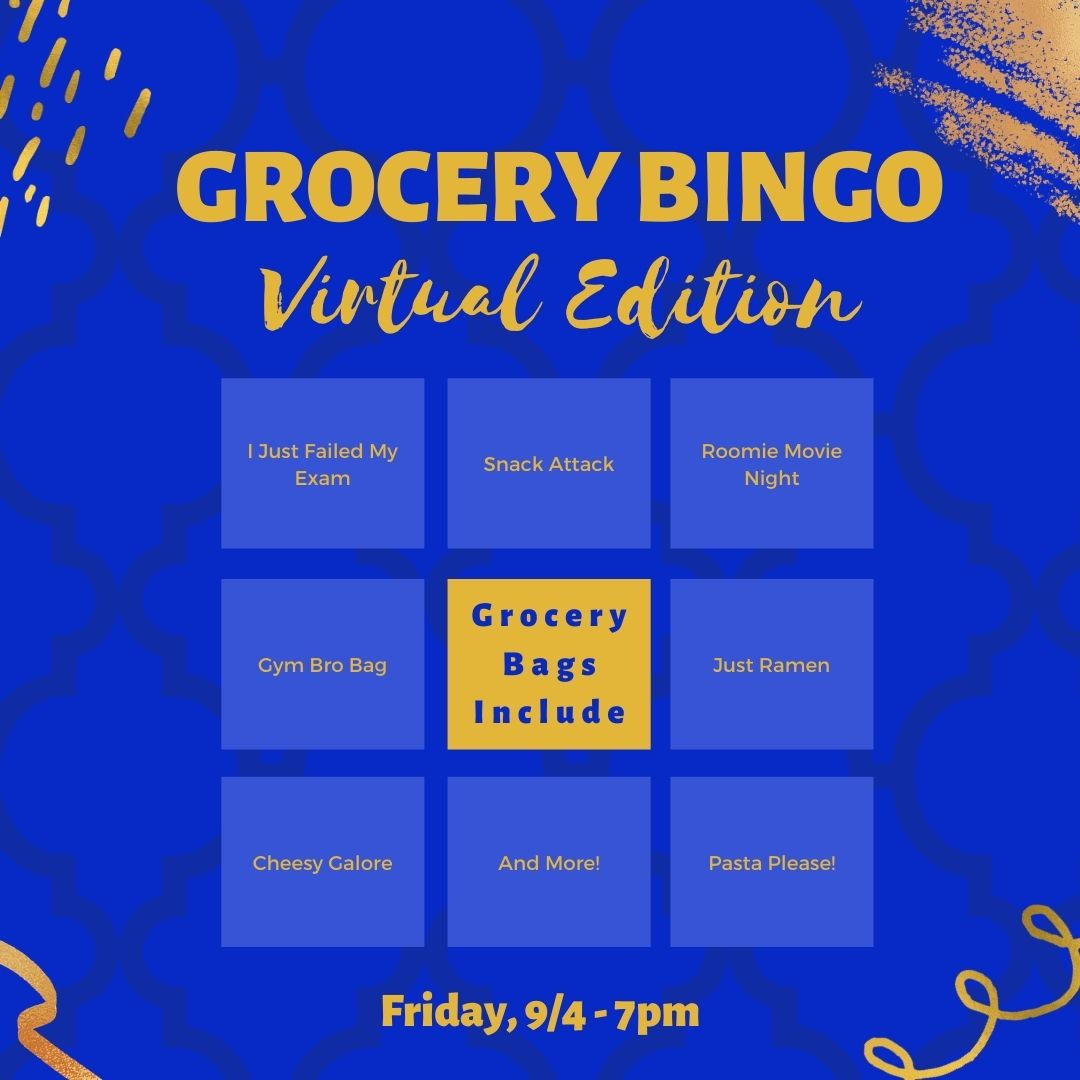 Grocery BINGO This Friday at 7pm