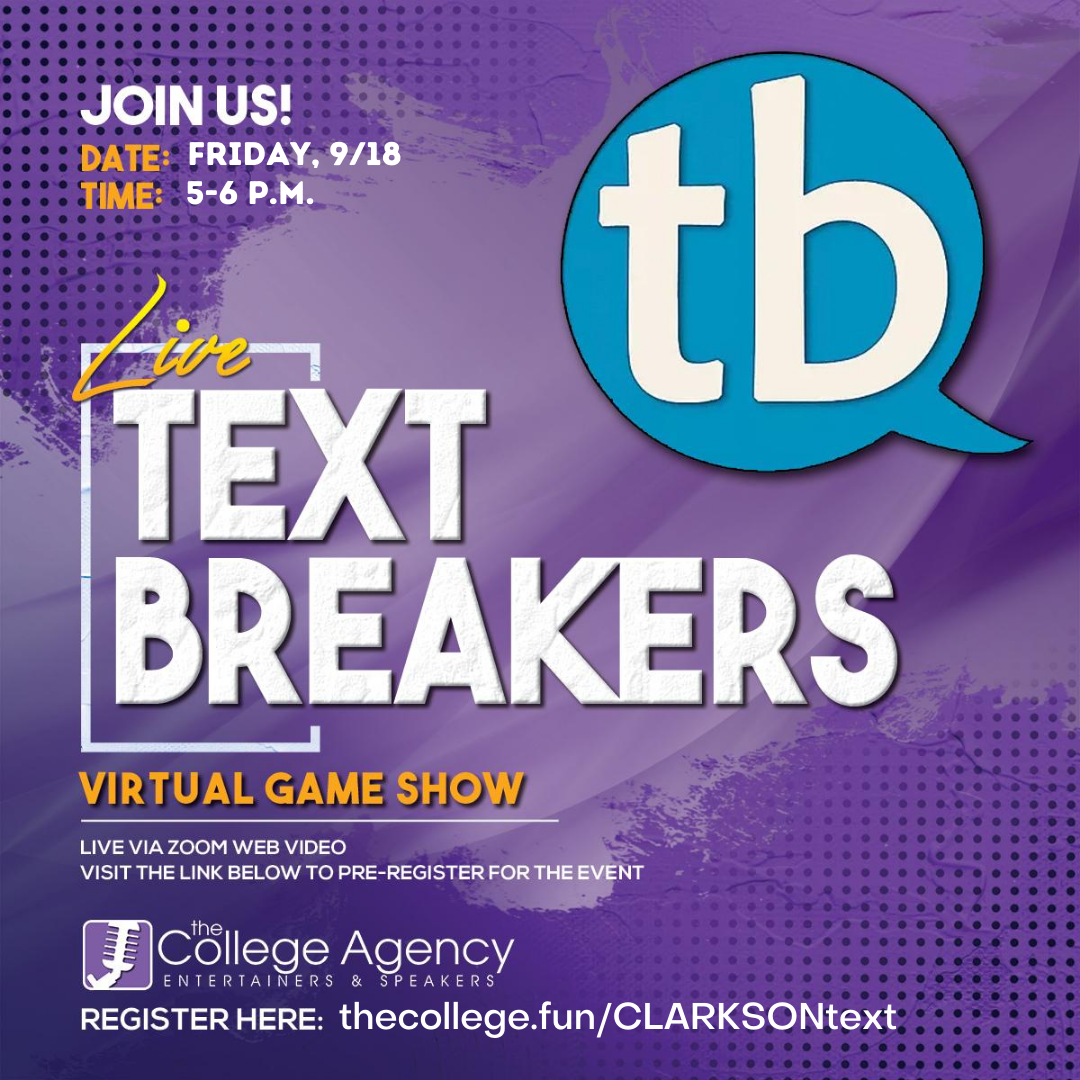 Text Breakers This Friday!