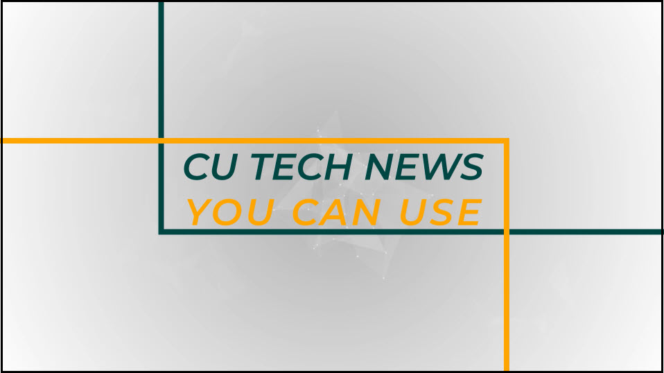 CU Tech News You Can Use: Edit Your Echo360 Video with Ease